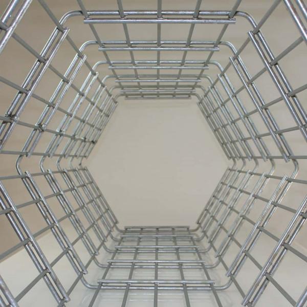 Gittersäulen 1 m für Steine