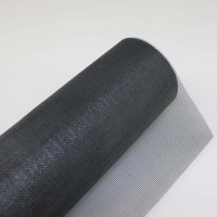 Fliegengitter 0600 mm, Fiberglas in schwarz, Rolle á 25 lfm