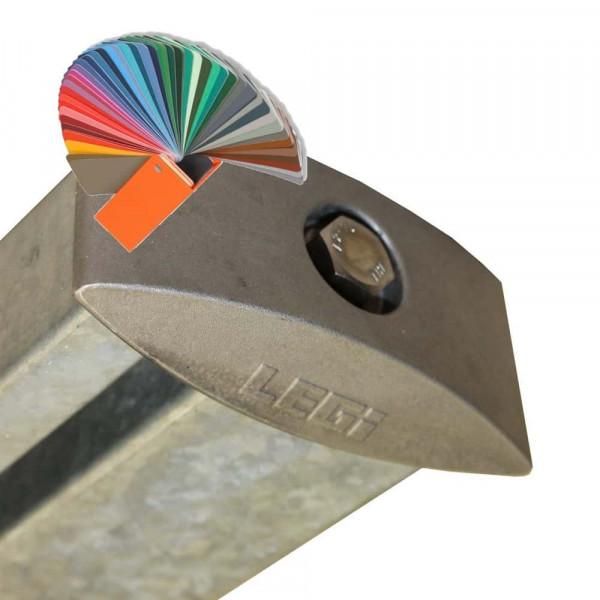 Pfosten RP fit Legi mit Alu-Kappe Farbe nach RAL