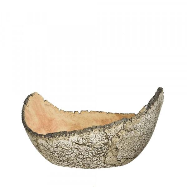 Pflanzschale aus Keramik Durchmesser 360 mm flach