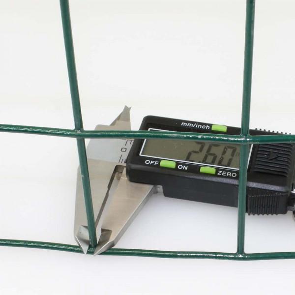 Drahtstärke inkl. PVC-Mantel ESAPLAX Gitter