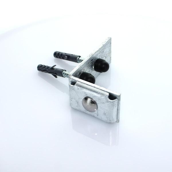 Wandanschluss L Winkel Stahlmatte verzinkt