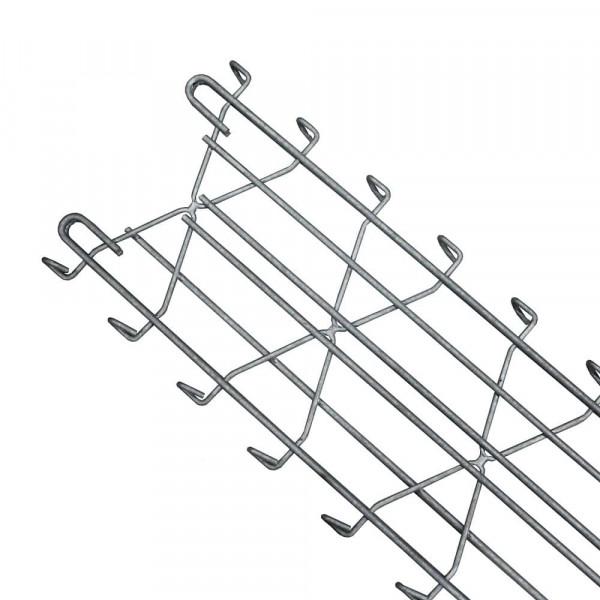 Legi Anfang-/Endpfosten REP.D fit D 250 mm für Steinzaun 160 cm