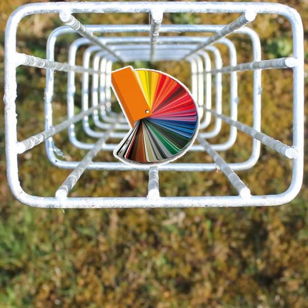 Ranksäule 0606 mm, Rechteck pulverbeschichtet