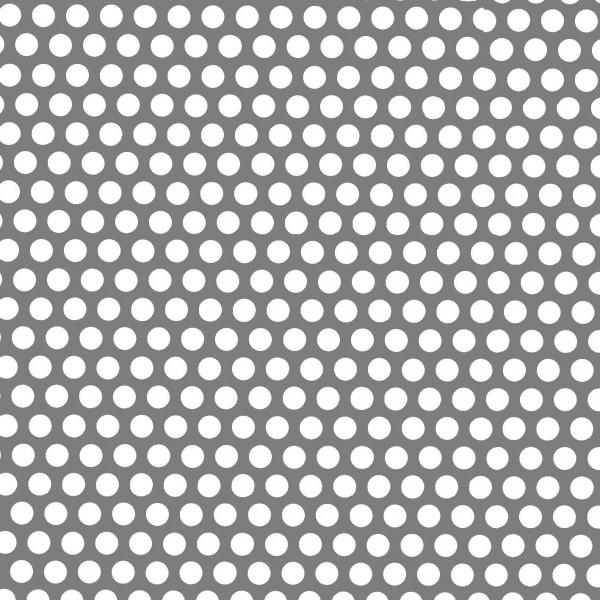 Lochblech Rv 02-03, 2000 x 1000 mm, 1,0 mm blank