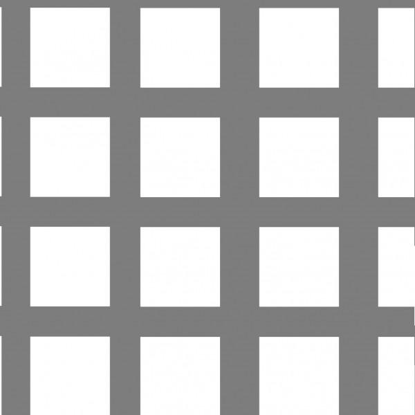 Lochblech Qg 10-14, 2000 x 1000 mm, 1,5 mm blank