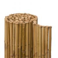 Sichtschutzmatte Bambus Natur 1800 mm - 2,5 m