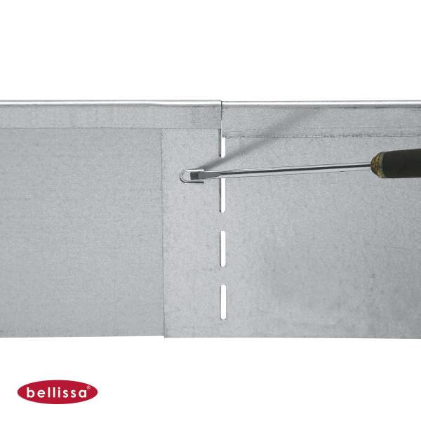Rasenkante Metall 1180 x 130 mm verzinkt