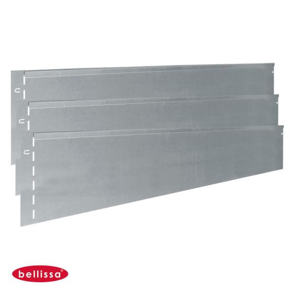 Rasenkante Metall 1180 x 200 mm - 3er Set