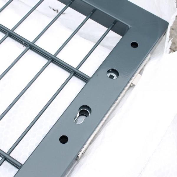 Toranlage IGT-Vario 1000 x 1000 anthrazit Bodenplatten