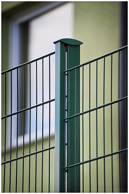 LEGI R fit R+K Gittermattenzaun 20m kompl Höhe 123 cm anthrazit Farbe