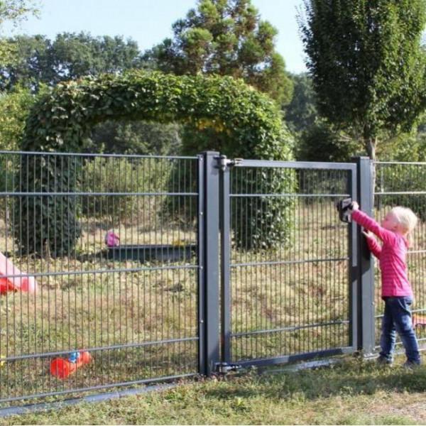 Zaun Kindersicher Gitter Kindergarten Zaunanlage
