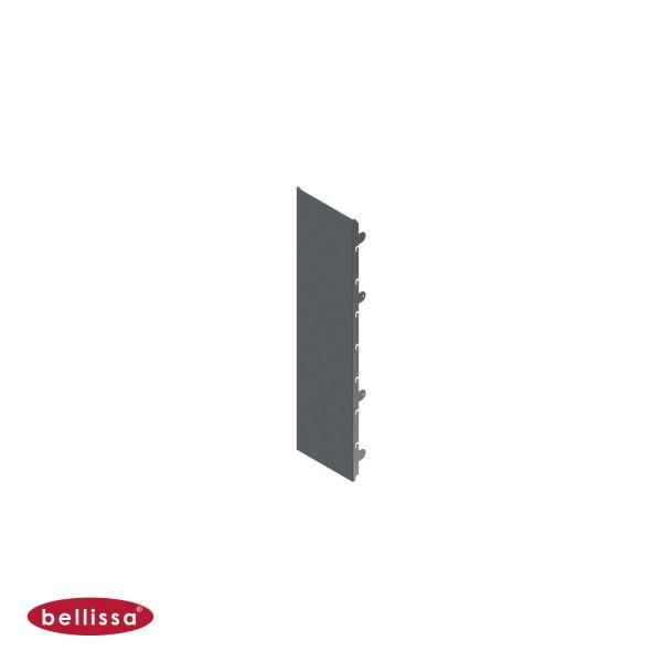 Corten Stahl 200x800 mm Ansicht vorne