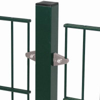 DINO Plus Zaunpfosten für Gitterhöhe 1630mm Mitte, Farbe