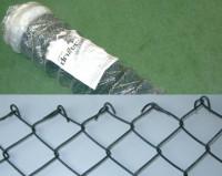 Maschendrahtzaun grün 1000 mm, Masche 50x2,8 mm, Baumkuchen