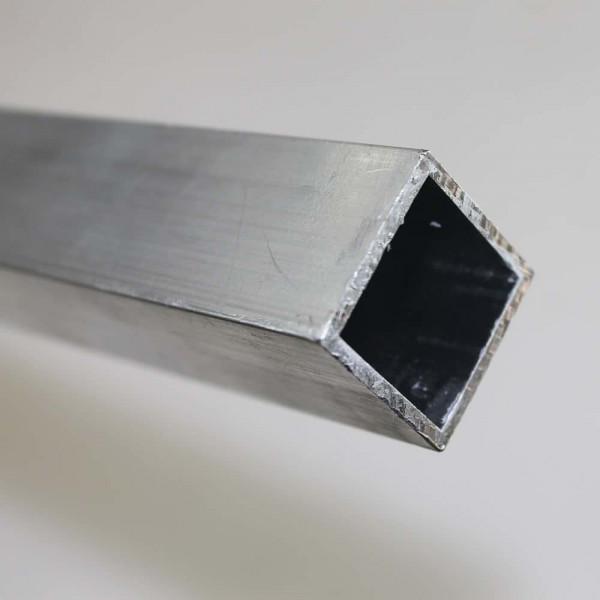 Vierkantrohr Aluminium 25 x 25 x 2,0 mm