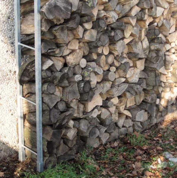 brennholz stapeln hauswand