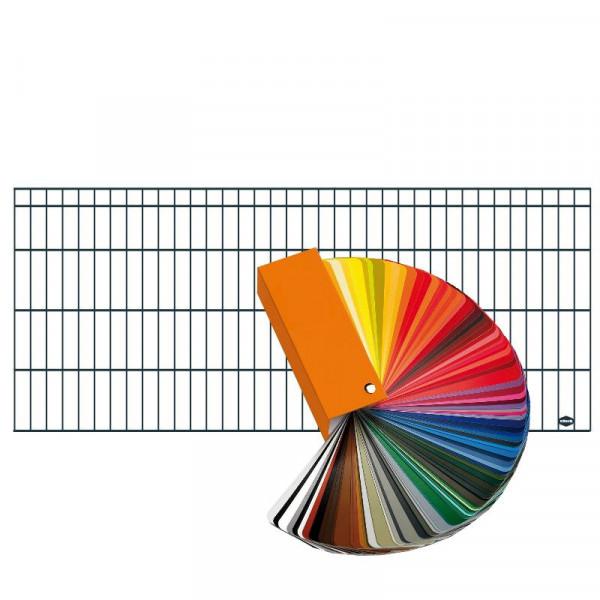 DINO Höhe 0800 mm, Gittermatte trend, Wahlfarbe