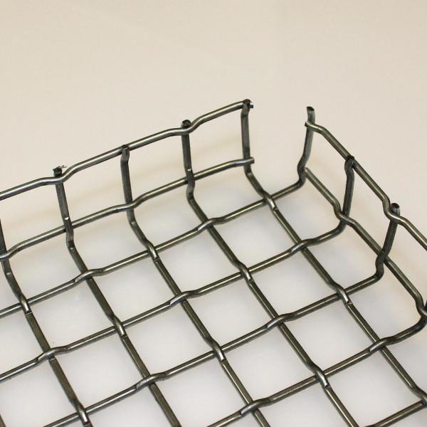 Stanzgitter aus verzinktem Stahl