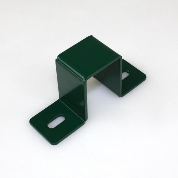 Wandanschlussschelle für Doppelstabmattenzaunpfosten