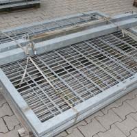 Toranlage 3000 x 1800 mm IGT verzinkt 2-flgl