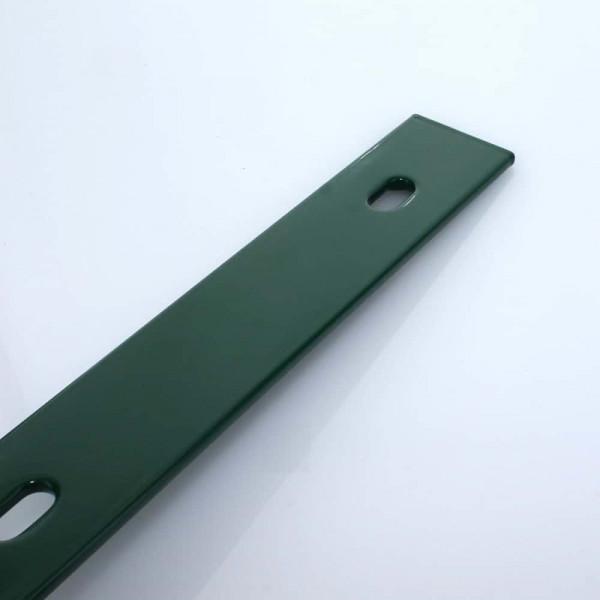 Abdeckleiste für Zaunpfosten grün 100 cm