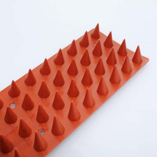 Übersteigschutz auf PVC - Pack mit 2 Meter rot