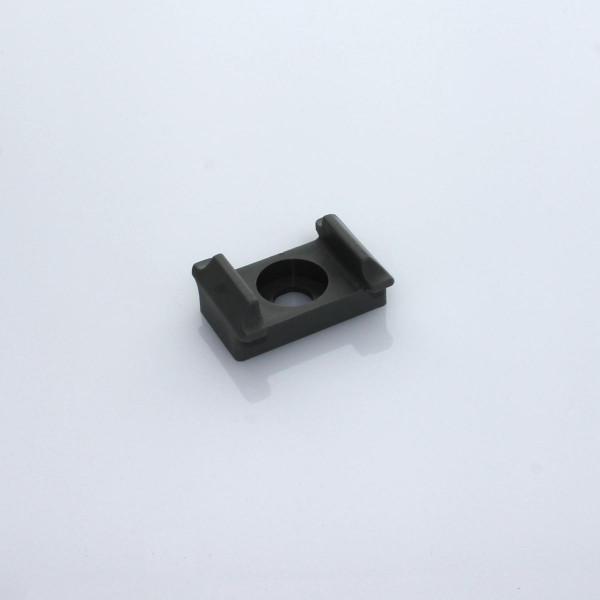 Geräuschdämmer für Pfosten grau II ab 50 mm
