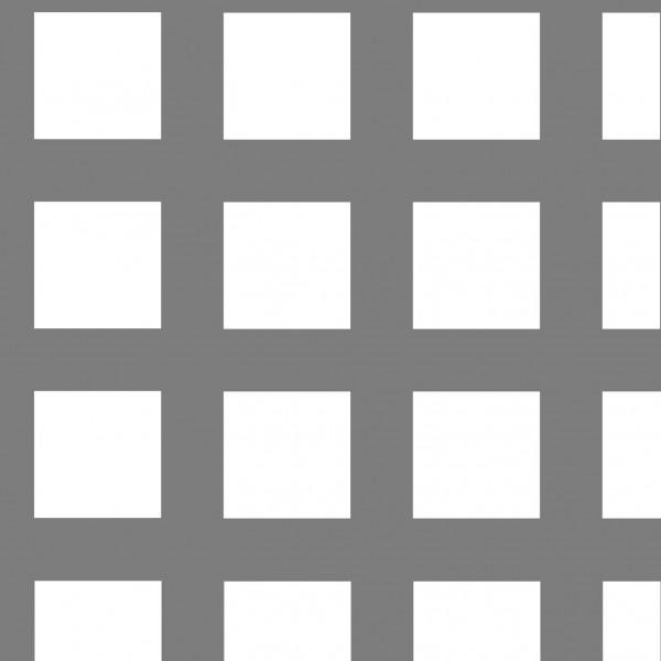 Lochblech Qg 10-15, 2000 x 1000 mm, 1,5 mm blank