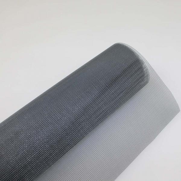 Fliegengitter aus Fiberglas in grau auf Rolle