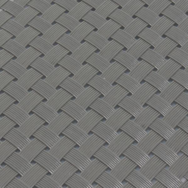 Sichtschutz Flechtmuster grau 190 x 2560 mm