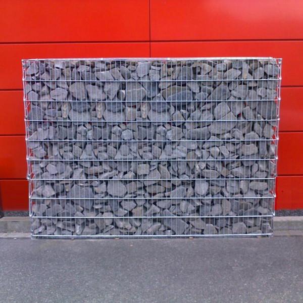 Gabionenwand Steinkorb
