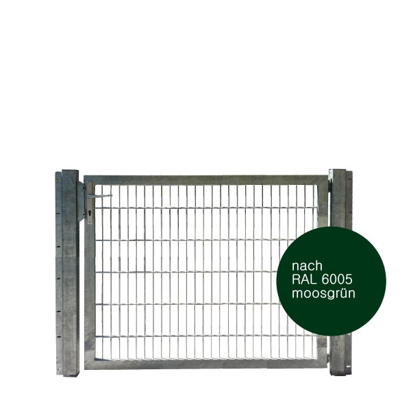 Gartentor 150 x 120 cm Industriequalität in grün