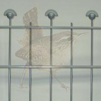 Höhe 0900 mm, Gittertyp Arte-Napoleon, beschichtet