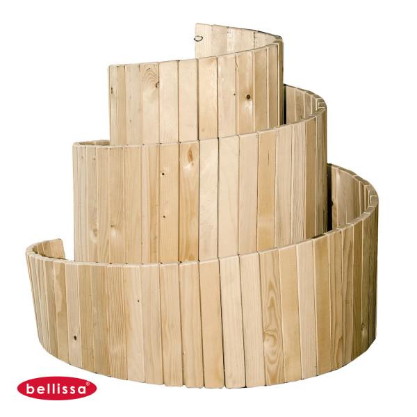 Kräuterbeet Spirale Kräuter Garten Holz Bausatz