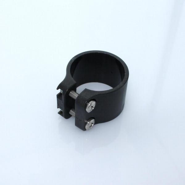Pfostenbuegel Bekafor Montage Schelle anthrazit 48 mm