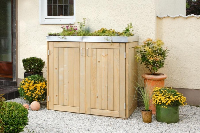 Mulltonnenbox Online Kaufen Aus Edelstahl Holz Oder Hpl