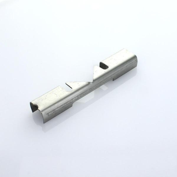 Mattenverbinder V2A Doppelstab 8 6 8 Eck