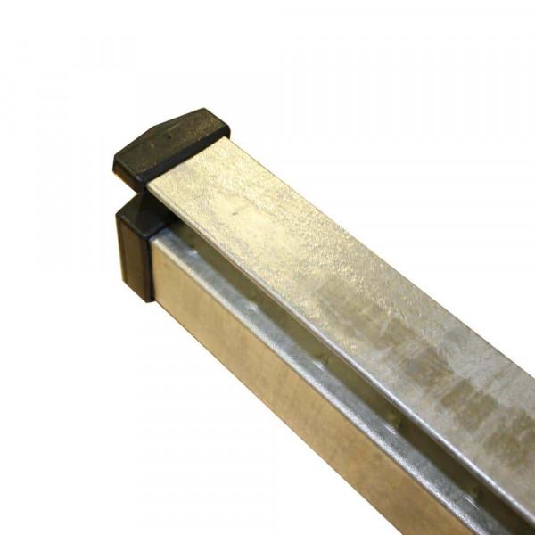 Adronit T-Pfosten für Gitterzaun UNI 100 cm in verzinkt.