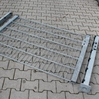 Toranlage 1500 x 1000 mm LGT verzinkt mit Bodenplattem