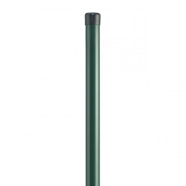 DINO Höhe 1400 mm, Pfosten Ø 42x2000 mm grün