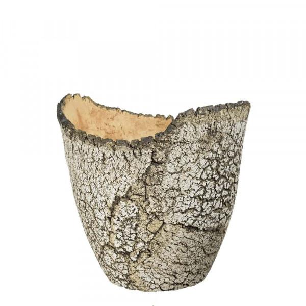 Blumentopf 24 cm aus Keramik frostfest