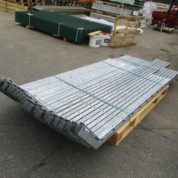 Pfosten Übersteigschutz 2030/2430 mm verzinkt 23erSet