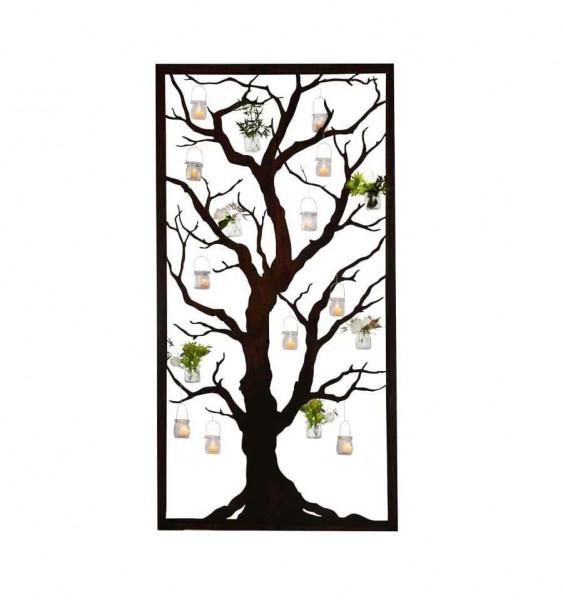 Dekosichstchutz Rost Baum Abtrennung