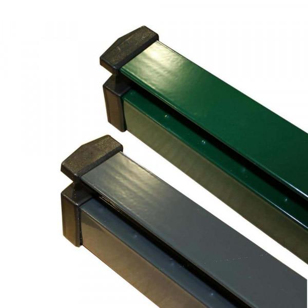 Adronit Zaunpfosten für U-Profil Zaun 1430 mm, Typ UNI beschichtet