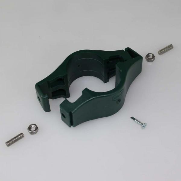 Doppelschelle Kunststoff rund 42 mm