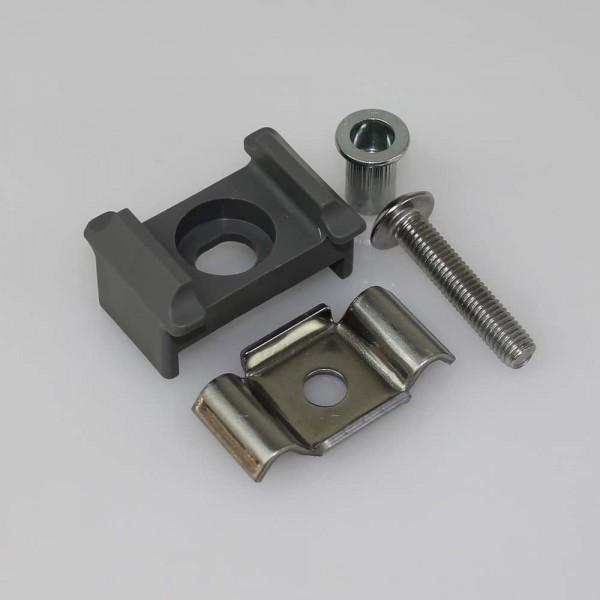 Gittermattenhalter Set Typ MS grau II 40mm