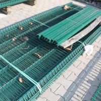 Sickenzaun 1230 mm N3D grün 24 lfm