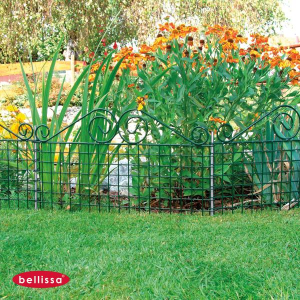 Rabattenzaun Ambiente grün 760 x 440 mm