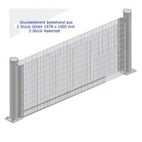 Columella Mauer 2160 x 1005 x 120 mm Grundelement